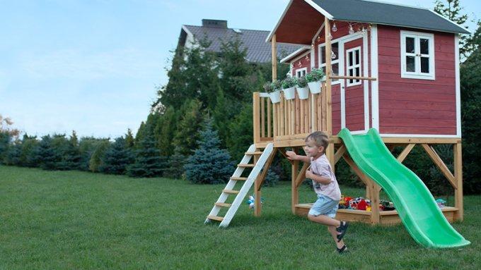 Wie Pflege Ich Ein EXIT-Holzspielhaus?
